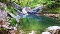 Lake and waterfall of Mesoropi, Pangaion.jpg