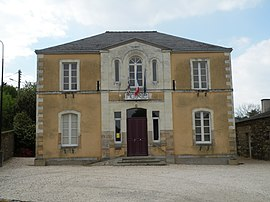 The town hall in Langon