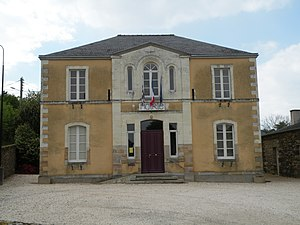 Langon, Ille-et-Vilaine - The town hall in Langon