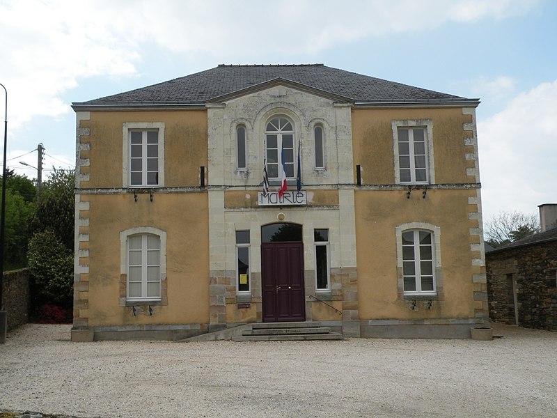 Town hall of Langon.