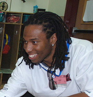 Larry Fitzgerald - Fitzgerald at the Child Development Center on Incirlik Air Base, Turkey, in 2006