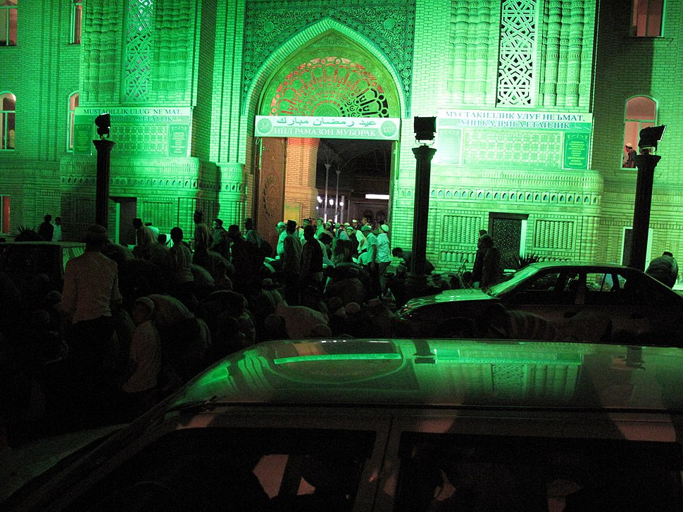 Last Friday of Ramadan, Andijan