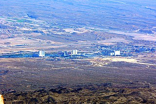 Laughlin, Nevada Unincorporated town in Nevada, United States