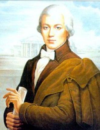 Laurynas Gucevičius - Modern representation of Gucevičius