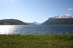 Lavangen - Image: Lavangsfjorden