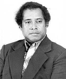 Lazarus Salii President of Palau