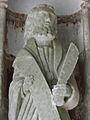 Le Faou (29) N.D. de Rumengol Porche sud Apôtre 05.JPG