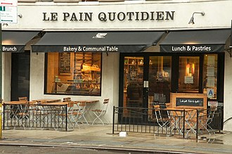 Le Pain Quotidien - A Le Pain Quotidien in New York City