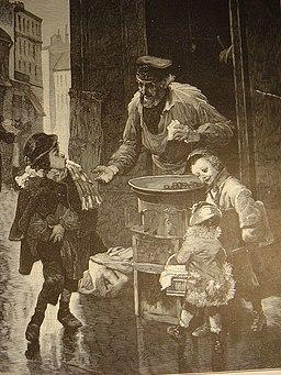 Le marchand de marrons
