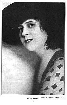Leah Baird Photo From The First One Hundred Noted Men And Women Of The Screen
