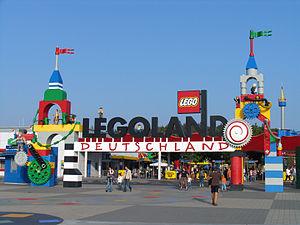 Entrance of Legoland Deutschland