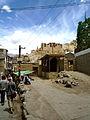 Leh, le palais depuis la vieille ville..jpg