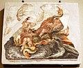 Leolio orsi, frammenti di affreschi dalla rocca di novellara, 1555-56 ca., 04 scena di diluvio con divinità marine.jpg