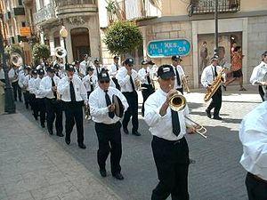 Vinaròs - Parade in Vinaròs.