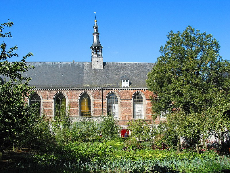 Lessines  (Belgium), Hortus conclusus and chapel of the Hospital Our Lady With the Rose.