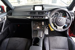Lexus CT200h Fsport 2014 Interior Japan.JPG