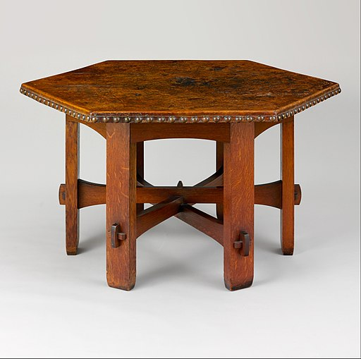 Library Table MET DP209329
