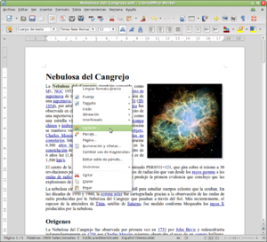 LibreOffice Writer - Wikipedia, la enciclopedia libre