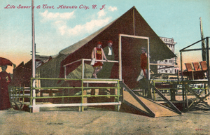 Life Saver's & Tent, Atlantic City, N. J.