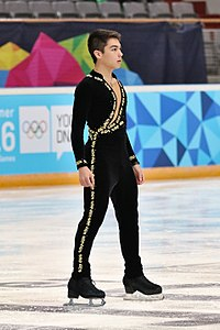 Lillehammer 2016 - Figure Skating Men Short Program - Camden Pulkinen.jpg