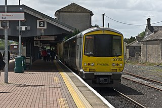 Limerick Junction railway station train station in the Republic of Ireland