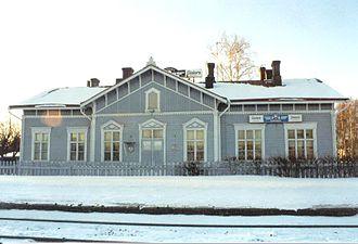 Liminka - Liminka railway station