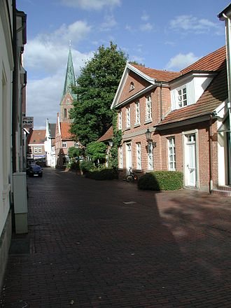 Lingen, Germany - Old town