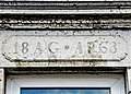 Linteau daté de 1863. Fuans.jpg