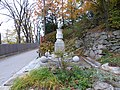 Linz Denkmal für Gerstner, Pferdeeisenbahn-Denkma (1).JPG