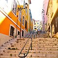 Lisbon, Portugal (Sharon Hahn Darlin) escadas.jpg