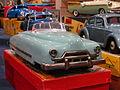 Litho tin toy blue american car pic1.JPG
