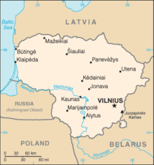 Lithuania-CIA WFB Map.png