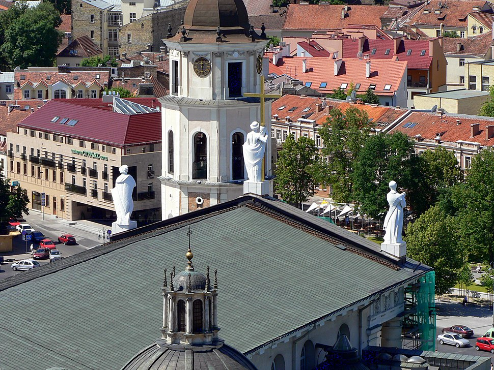 Lithuania Vilnius Cathedral