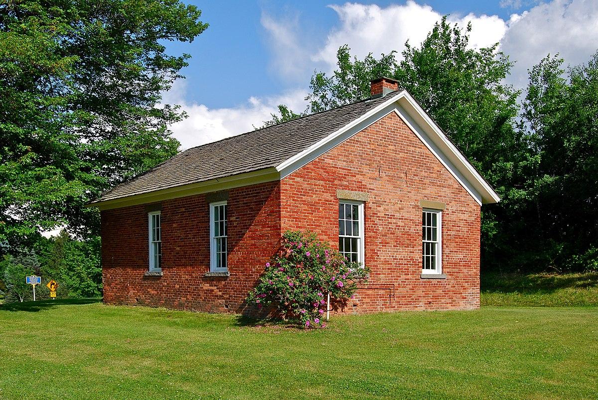 Little Red Schoolhouse Brunswick New York
