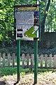 Liubeshiv Volynska-Liubeshivskyi park architecture monument-information board-1.jpg