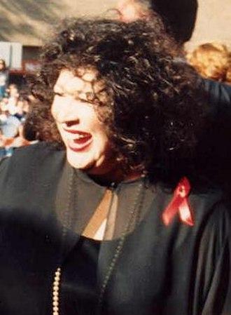 Liz Torres - Liz Torres at the 1994 Emmy Awards