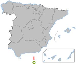 Melilla border fence - Melilla