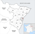 Locator map of Kanton Strasbourg-5 2019.png