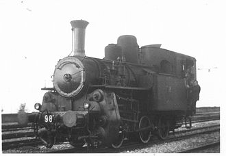 History of rail transport in Italy - A 981 Class steam locomotive