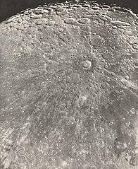 Photographie Lunaire Rayonnement de Tycho - Phase Croissante