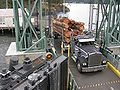 Logging truck - Shaw Island ferry dock 01.jpg