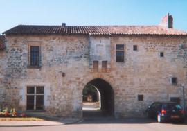 The abbey house, in Fontaine-le-Comte