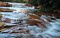 Long exposure of a small falls near Douglas Falls, WV (5516113973).jpg