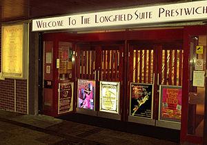Prestwich - Longfield Suite main entrance