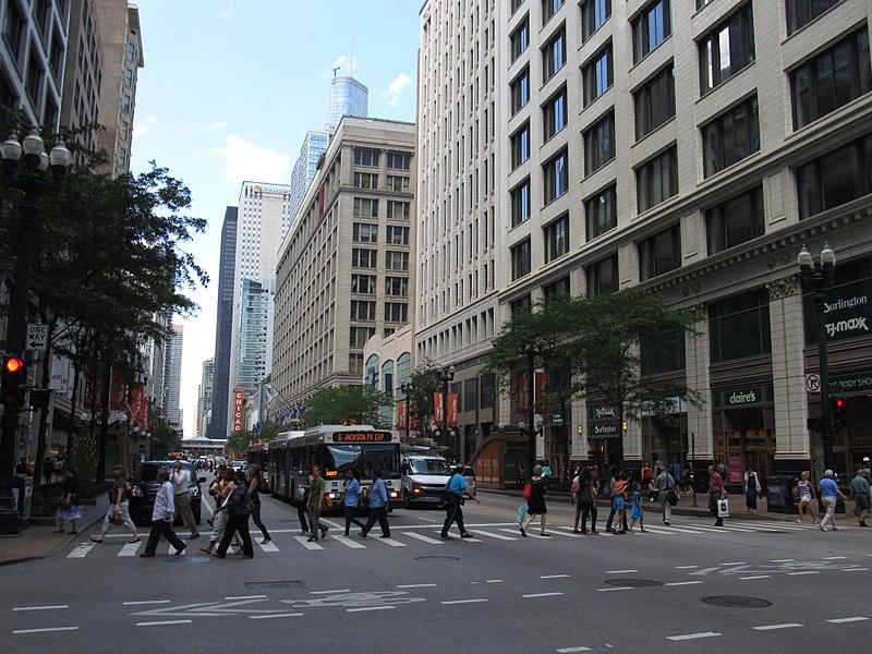Lojas de departamento em Chicago