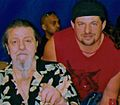 Lou Albano with Paul Billets.jpg