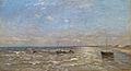 Louis Artan - Noordzee met bootjes en duinen.JPG