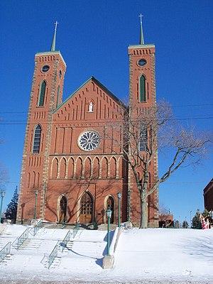 Louisville, Ohio - St. Louis Church, built 1870