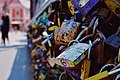 Love Padlocks On Lovers` Bridge In Wrocław.jpg