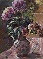 Lovis Corinth - Chrysanthemen und Rosen im Krug (1917).jpg